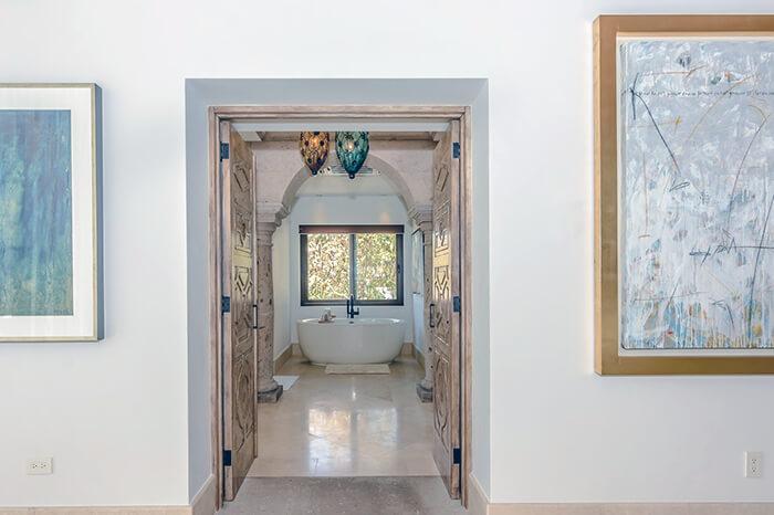 Interior Design Cabo - Casa Te Bathroom Hall
