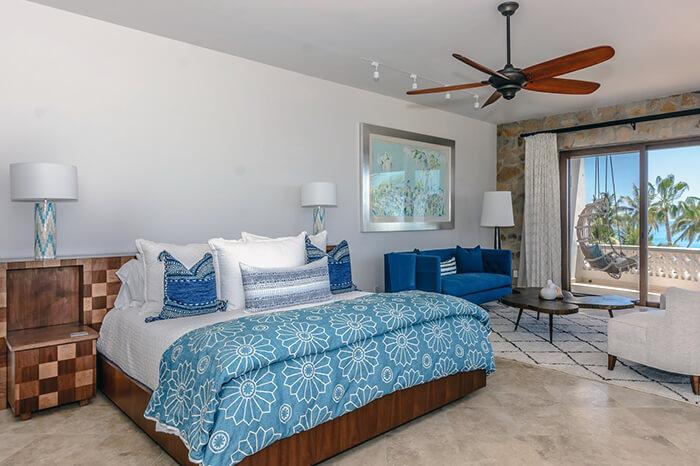 Interior Design Cabo - Casa Te Master Bedroom