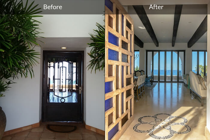 Interior Design Before and After