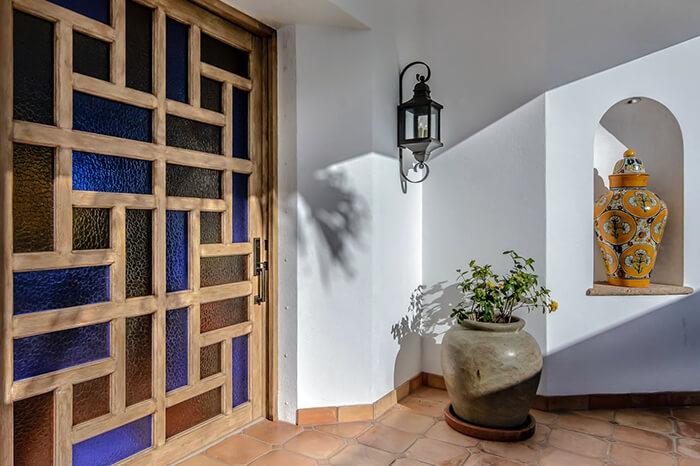 Interior Design Cabo - Casa Te Entrance