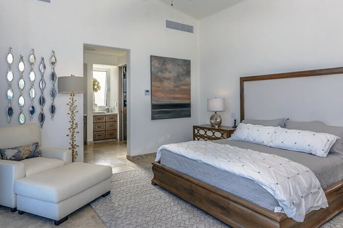 Interior Design Cabo - Casita 8 Master Bedroom