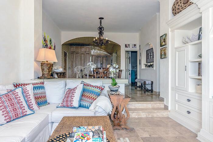 Interior Design Cabo - Duna 401 Living Room