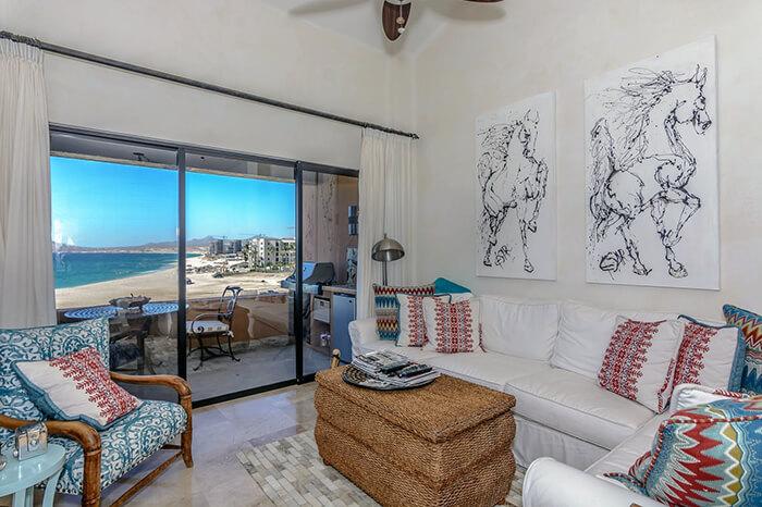 Interior Design Cabo - Duna 401 Living Area
