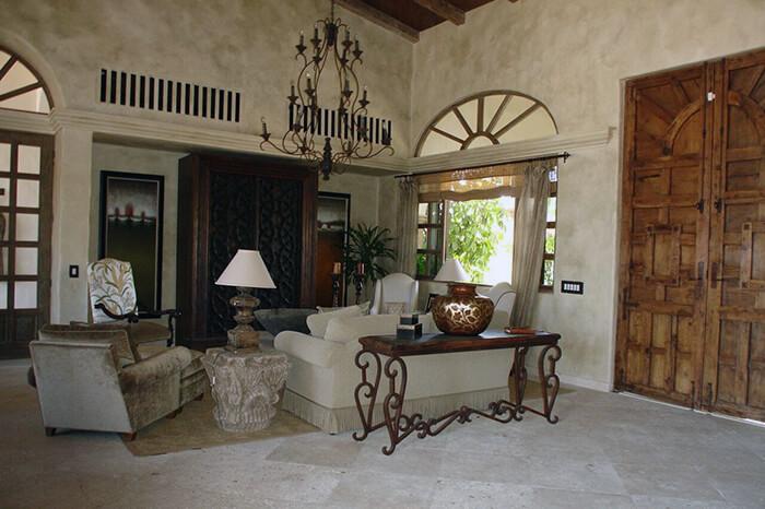 Interior Design Cabo - El Sueno 1,2 Living Area